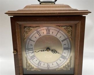 Bulova Quadraphonic Quartz Mantel Clock