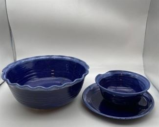 Signed John Garrou Pottery