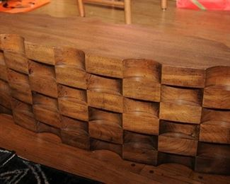 MID-CENTURY MODERN COFFEE TABLE BASE BY LANE