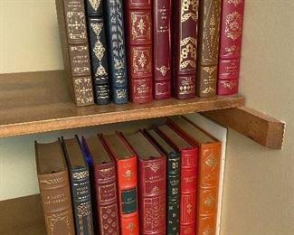 HUGE COLLECTION OF FRANKLIN LIBRARY BOOKS