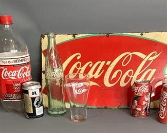 Collection of Coca-Cola Vintage Items