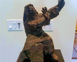 George Gach bronze Moses