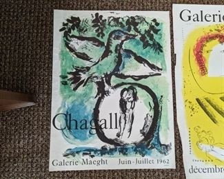 Galerie Maeght period lithograph posters