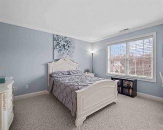 Bedroom set!  Dresser  Desk area  Bed frame and headboard