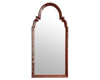 Red and Gold Chinoiserie Mirror, https://townandsea.com/product/red-and-gold-chinoiserie-mirror/