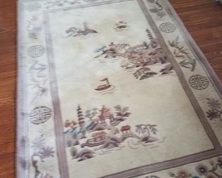 5 x 7 oriental rug.