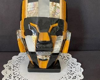Decorative shelf mask. $30