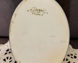 Additional photo of bottom stamp of Limoges France.