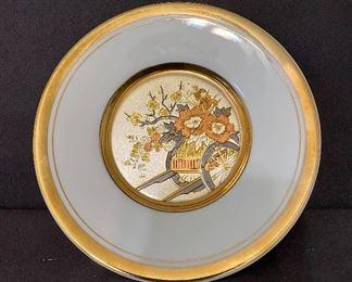 """"""" Cloisonne"""" plate. $10"""