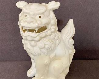 Ceramic porcelain Asian statue. $10
