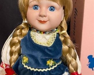 Additional photo of Gerta doll.
