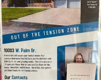 Information about the house and the realtor