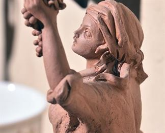 Terra cotta figures, Italy