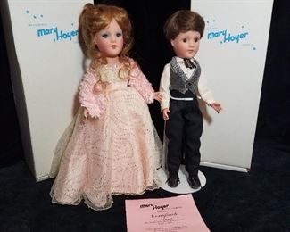 Limited Edition Mary Hoyer Dolls