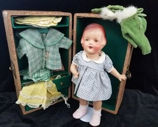 Nancy and Her Wardrobe