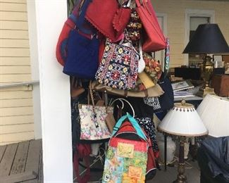 Purses, bags, backpacks, insulated bags, briefcases from designer to bargain.