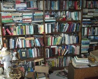 Up Stairs Book Room: