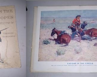 Living Room:  Frederic Remington Picture Book