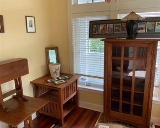 assorted Stickley furniture
