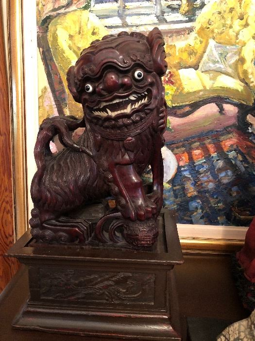 Foo Dog One of A Pair
