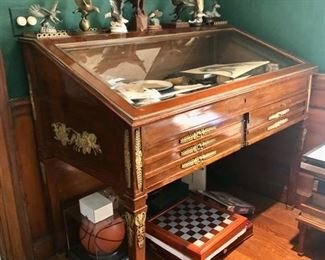 Antique French Vitrine / display cabinet