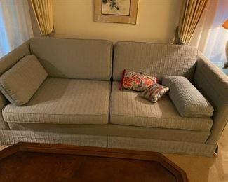 . . . a nice love seat