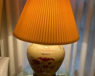 . . . a beautiful Asian-themed lamp