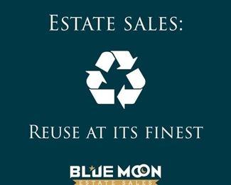 Estate Sales Reuse at its finest