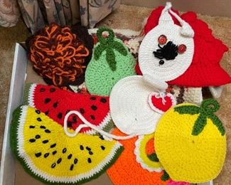 Crocheted and Knitted