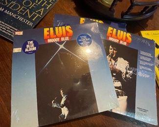 "Original SEALED Elvis Presley Moody Blues ""Blue"" Album"