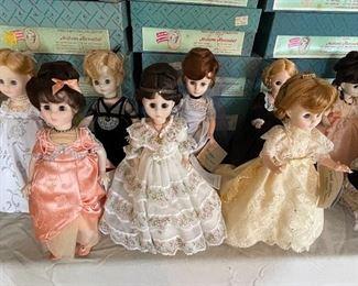 1st Ladies Madame Alexander Dolls