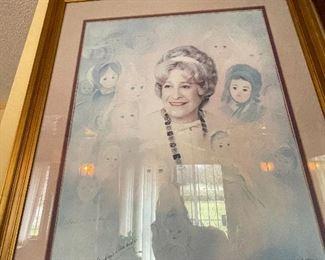 Signed Original Madame Alexander poster