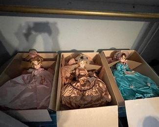 Large Madame Alexander Dolls