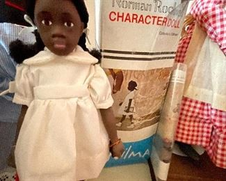 """Norman Rockwell """"Wilma"""" Collectable doll"""