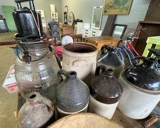 Crocks/Jugs pottery