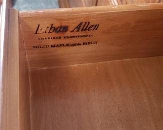 Ethan Allen Full Sz Bedroom Set