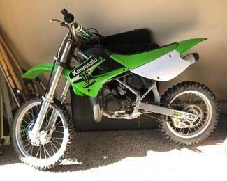 Kawasaki 2007 kx 100 Motorcycle