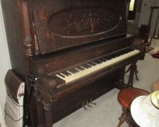 1909 Piano.  Has papers from company.