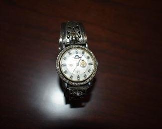 Fantastic Absolutely Beautiful Vintage Hamilton 14K White Gold Wrist Watch made between 1947-1954, 17 Jewel Wrist Watch featuring 52 Diamond Stones. Appraisal Description Follows!