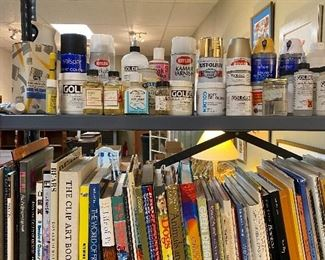 Art books galore. Many are very rare and old school impossible to find. Also highly collectible art books in this sale. Lots of Golden paints and grounds, gels and mediums. Frames and canvas. Art paper.