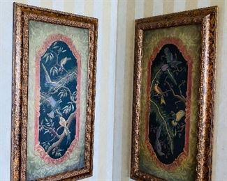 """$120 EACH TWO BIRD PICTURES 45.25""""L x 24.25""""W"""