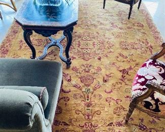 """$500 AREA RUG FROM DESIGN CENTER 135""""L x 102""""W"""