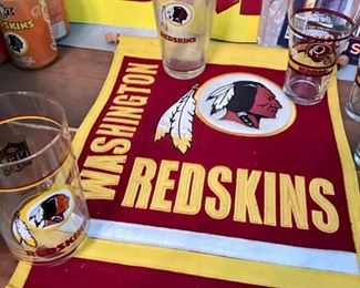 Redskins Banner Part of a larger collection