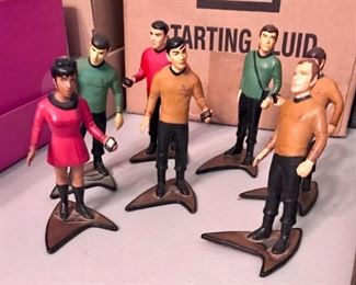 Star Trek figurines, part of a huge collection