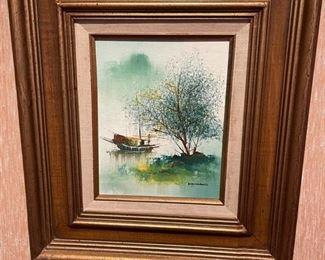 Art Boat on Water Kwok