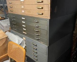 Basement Flat Files w 4 sections