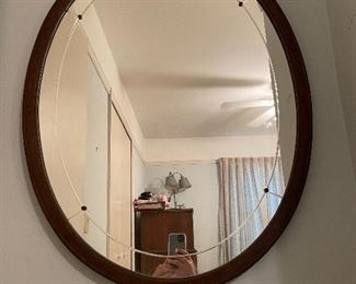Mirror matching twin beds