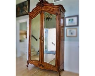 Antique Armoire from France, 19th century. *AVAILABLE FOR PRE-SALE