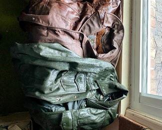 Vintage Leather Jackets!