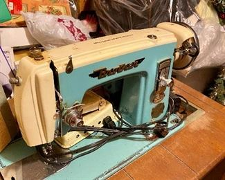 Brother brand sewing machine and table!